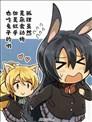狐狸虽然是杂食动物但是似乎也吃兔子的哦